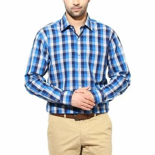 Mens Formal Check Shirt at Rs 350  piece  34633f693