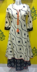 Cotton Double Layer Long Kurti
