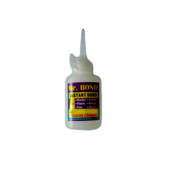 Wudman Mr. BOND Instant Adhesive, Packaging Type: Plastic Tube, Packaging Size: Pack Of 4
