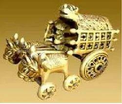 New Golden Decorative Bullcart, For Decoration