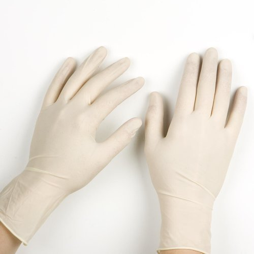 Vive Skin Disposable Latex Examination Gloves