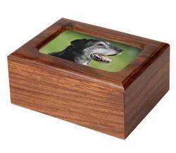 Photo Wood Pet Urn