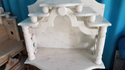 White Satwarya Marble Mandir