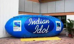 Oval Shape Advertising Sky Balloon
