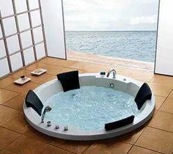 Round Spa Bathtub
