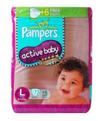 Pampers Active Baby Large Jumbo