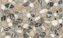 Somany Ter Gris Rustic Matt Geo Pebbles Wall Tile