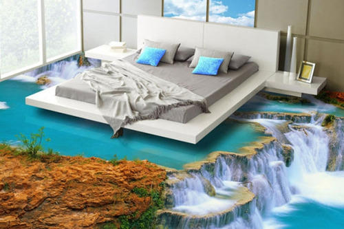 Bedroom 3D Flooring