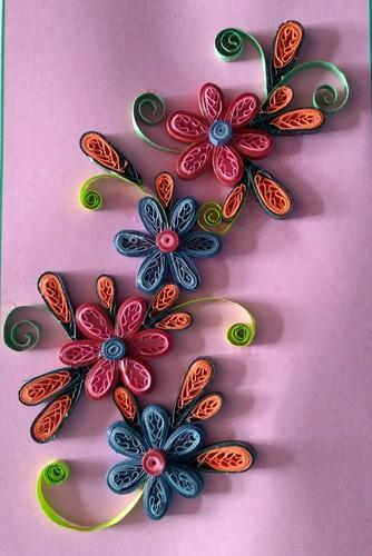 Quilling greeting card at rs 75 piece handmade greeting cards quilling greeting card m4hsunfo
