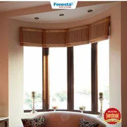 Light Oak Residential Fenesta UPVC Window