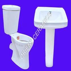 Orient Barium Carbonate and Zinc Ceramic Sanitary Ware Set