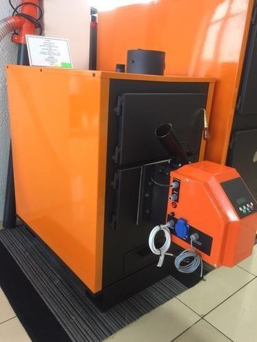 Solwet Wood Pellet Boiler For Hot Water, Capacity: 0-500 ...