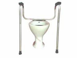 Invalid Aluminium Toilet Safety Rail 1 Dia Pipe