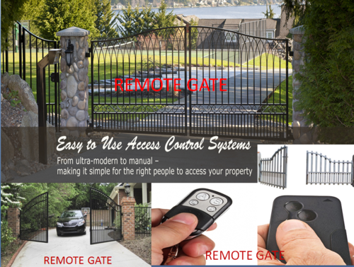 Remote Gate Automatic Gate At Rs 45000 Two Motor And