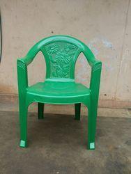 Standard Green Colour Plastic Chair