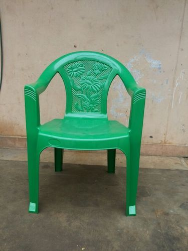 Standard Green Colour Plastic Chair