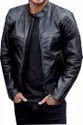 Mens Padding Leather Jackets