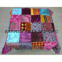 Brasso Velvet Patchwork Table Cover
