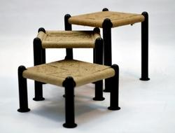 Metallic Stool - Furniture Set