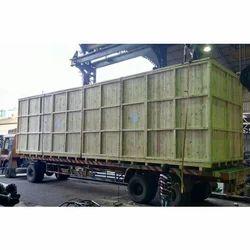 Heavy Industrial Pinewood Box