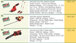 Falcon Power Hedge Trimmer