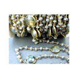 Labradorite Gemstone Chain