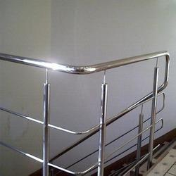 Silver Panel Stainless Steel Railing