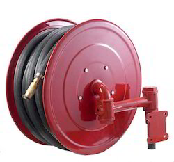 Black Fire Hose Reel