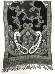 Wool Work Embroidery Shawls