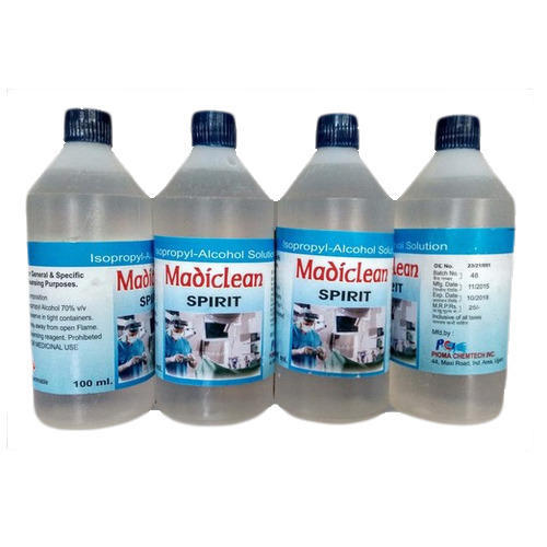 Isopropyl Alcohol Solution 70%, Organic And Inorganic