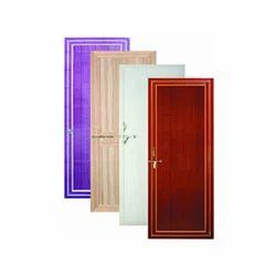 SWING Coated Designer PVC Door, For Bathroom, Interior