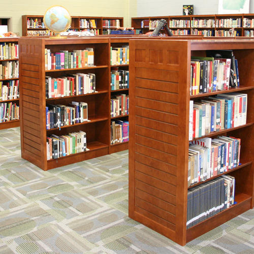 School Library Shelves
