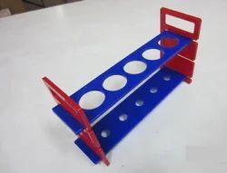 Plastic Demountable Test Tube Rack, 5 Large Holes