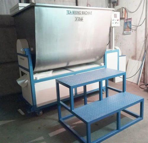 Automatic Tea Blending Machine, Capacity: 500 Kg Per Batch