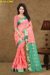 Fancy Designer Silk Saree