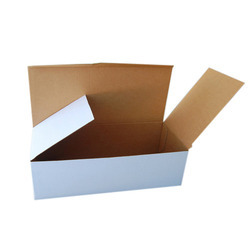 White Corrugated Packaging Box