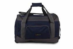 Blue & Grey Travel Bag