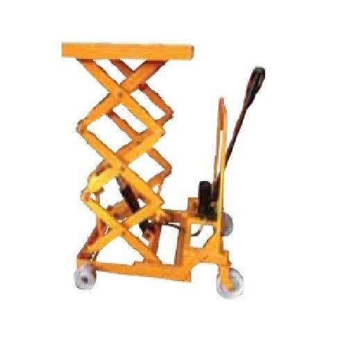Hydraulic Scissor Platforms Die Loader Scissor Trolley