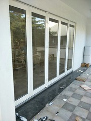 White Slide & Fold Doors