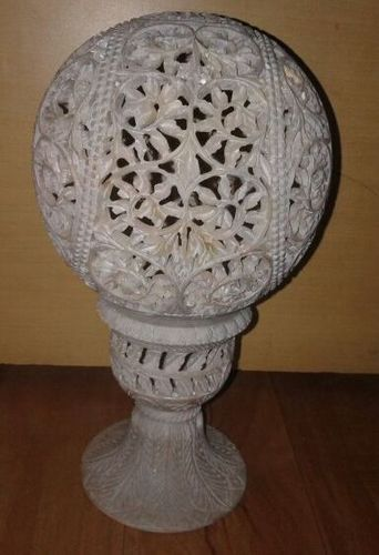 Realized price for Soapstone Lamp