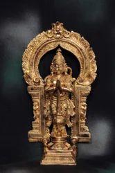 Lord Hanuman 12 Inches Panchaloham Statue