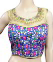 Ready Made Party Wear Printed Designer Blouse