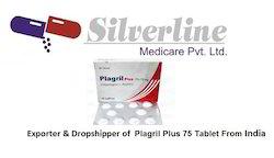 Plagril Plus 75 Tablet