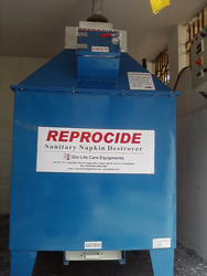 Jumbo Sanitary Napkin Destroyer Incinerator