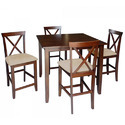 Robusta 5 Piece Dining Table Set