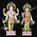 Lord Laxmi Narayan Marble Sculpture