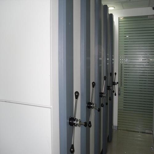Mobile Compactor Shelving