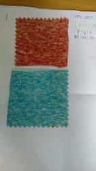 Snow Jersey PVC Tri Blend Fabric