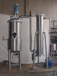 Semi-Automatic Tomato Vacuum Pan, Production Capacity: 200 - 2000 Ltr