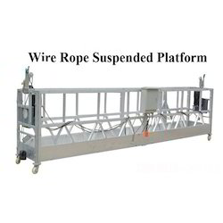 Wire Rope Suspended Platform